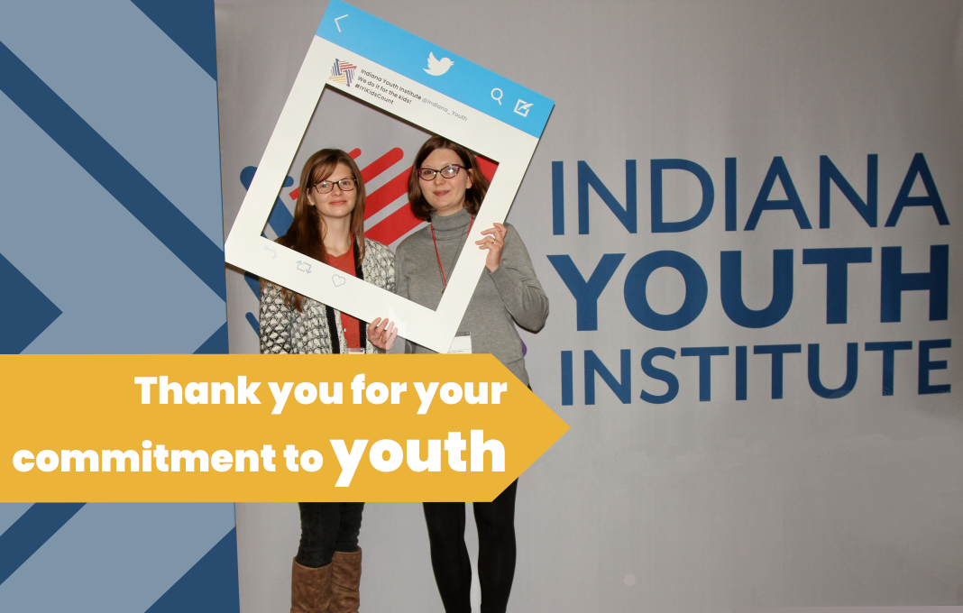 Thank you for your commitment to youth